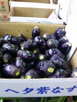 ヘタ紫茄子
